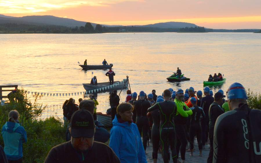 Open water swimming - Swim the Arctic Circle